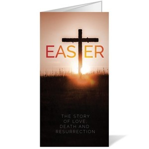 Easter Cross 11 x 17 Bulletins