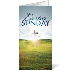 Easter Hillside 11 x 17 Bulletins