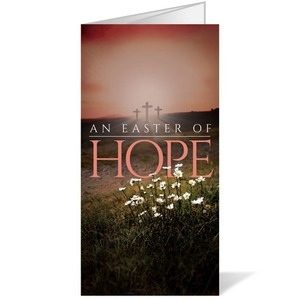 Easter Hope Daisy 11 x 17 Bulletins