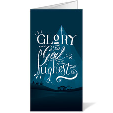 Glory to God Blue Bulletin