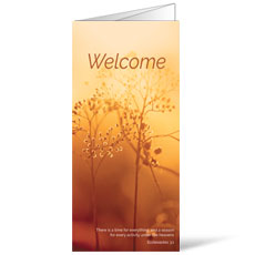 Welcome Season Fall Bulletin