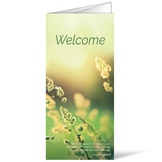 Welcome Season Spring Bulletin