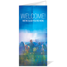 Modern Mosaic Welcome Bulletin