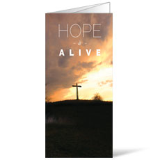 Hope Alive Cross Bulletin