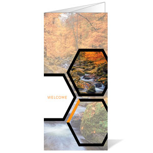 Welcome Hexagon Fall Bulletins