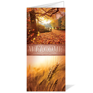 Beautiful Creation Fall Bulletins