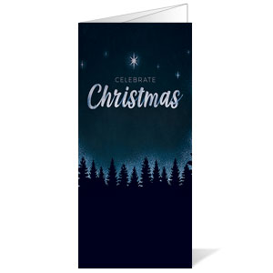 Christmas Forest Silhouette Bulletins