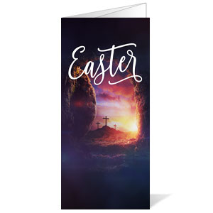 Dramatic Tomb Easter Bulletins
