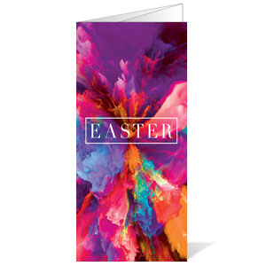 Easter Color Smoke Bulletins