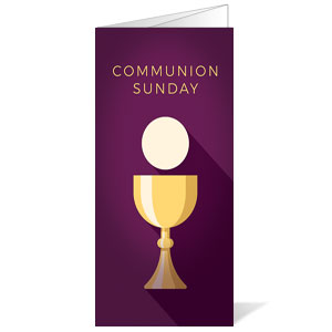 Contemporary Communion Bulletins