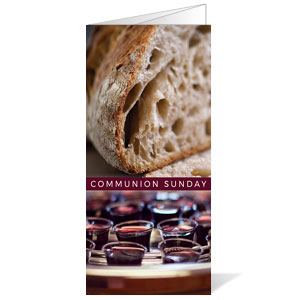 Communion Sunday Bulletins