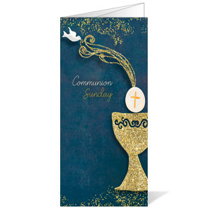 Craft Communion Bulletins