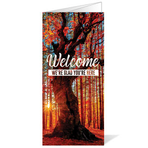 Inspirational Trees Fall Bulletins