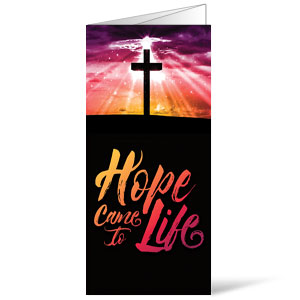 Hope Life Cross Bulletins