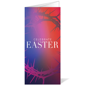 Celebrate Easter Crown Bulletins