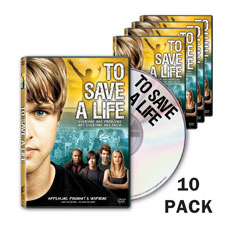 To Save A Life - DVD 10 pack