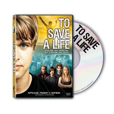 To Save a Life DVD - CD