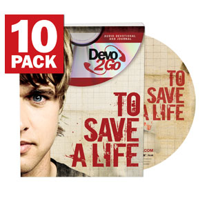 To Save a Life Devo2Go - Pack of 10