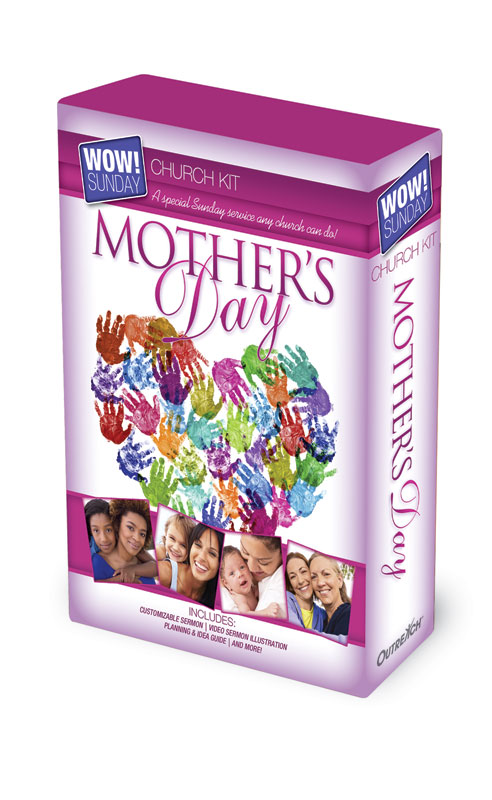 Mother's Day Postcard Invitations