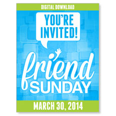 Friend Sunday 2014 Campaign Kit