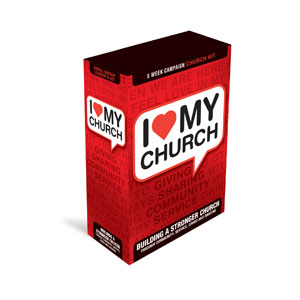 I Love My Church Campaign Kits