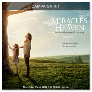 Miracles from Heaven Digital Church Kit Campaign Kits