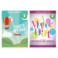 Mother's Heart/That's My Dad Combo Digital Kit Campaign Kit