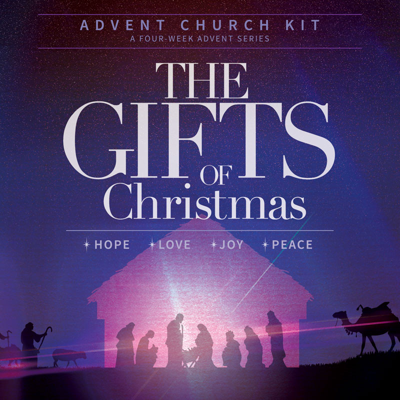 The Gifts of Christmas 5 Week Combo Campaign Kit - Church Media ...