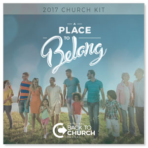 Back to Church Sunday: A Place to Belong Digital Campaign Kits