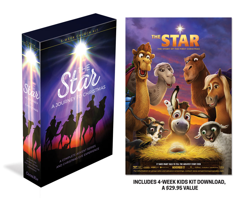 the star a journey to christmas campaign kit church media outreach marketing - A Christmas Star Movie