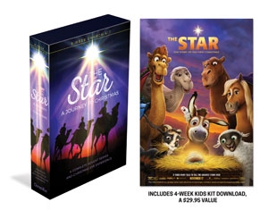The Star A Journey to Christmas Advent and Christmas Eve Kit Campaign Kits