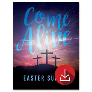 Come Alive Easter Sunday Event Campaign Kits