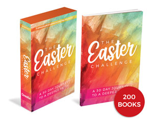 The Easter Challenge Kit and 200 Book Bundle Campaign Kits