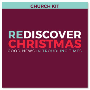 ReDiscover Christmas Advent 5 Sermon Series Campaign Kits