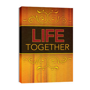 Together Life 24in x 36in Canvas Prints
