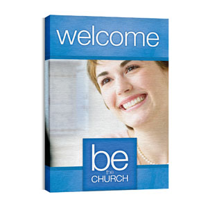 Be the Church Welcome Wall Art