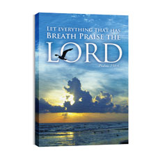 Breath Praise Lord Canvas Print