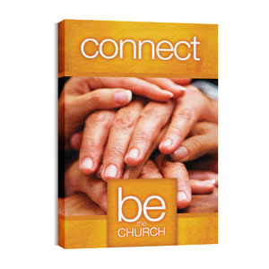 Be the Church Connect Wall Art