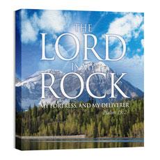Lord My Rock Wall Art