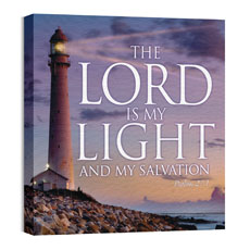 Lord Is My Light Wall Art