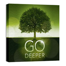 Go Deeper Roots Wall Art