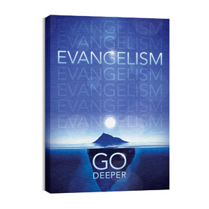 Deeper Iceberg Evangelism 24in x 36in Canvas Prints