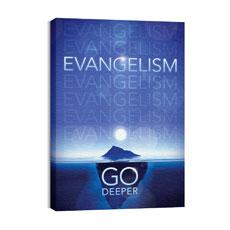 Deeper Iceberg Evangelism Wall Art