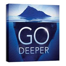 Deeper Iceberg Wall Art