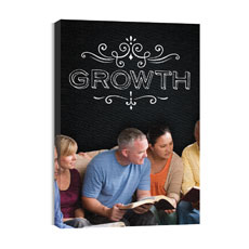 Chalk Growth Canvas Print