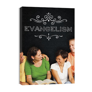 Chalk Evangelism Wall Art