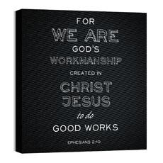Chalk Eph 2:10 Wall Art