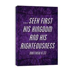 You Belong Matt 6:33 Wall Art