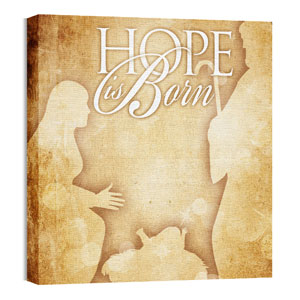 Hope is Born Wall Art