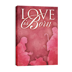 Born Love Canvas Print
